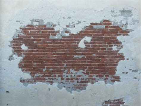 Sticker Wall Decals partly covered brick texture 0036 texturelib