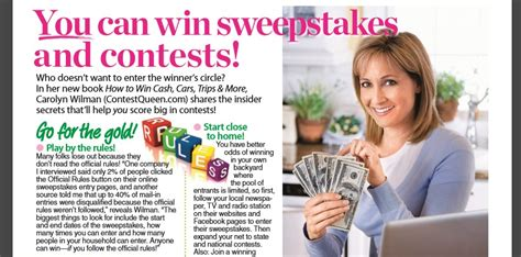 Womans World Sweepstakes - sa featured in woman s world magazine sweepstakes advantage