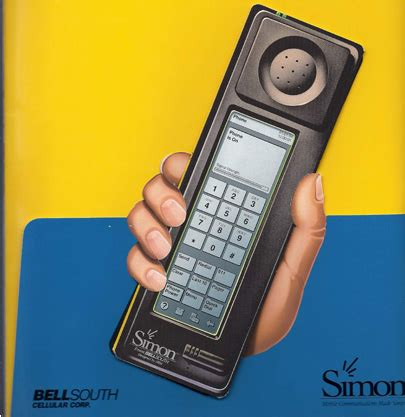 When Android Came Out before iphone and android came simon the smartphone