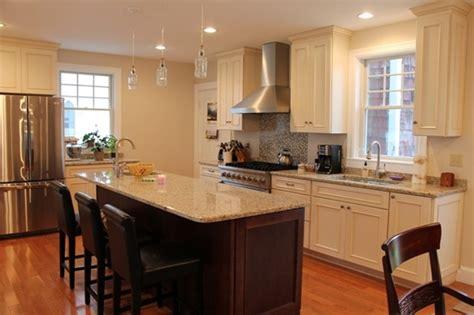 lowes thomaston maine butterworth kitchen traditional kitchen boston by