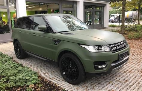 army green range rover nato olive range rover sport by print tech