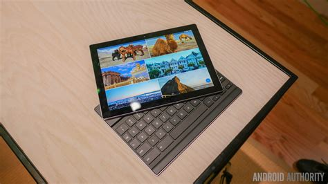 Tablet Pixel C pixel c on and look