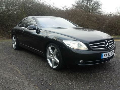 2008 mercedes coupe 2008 mercedes cl500 coupe 5 5 v8 7g t amg auto