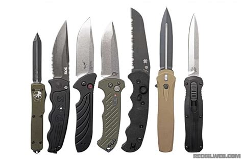 best automatic knives automatic knives buyers guide recoil
