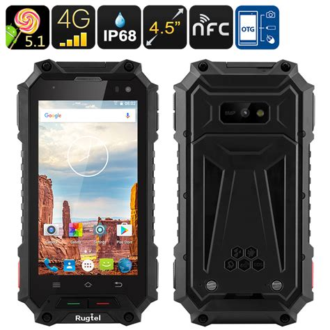 rugged 4g smartphone rhino mini standard rugged android phone mil std 810g 3 5 inch screen ip67