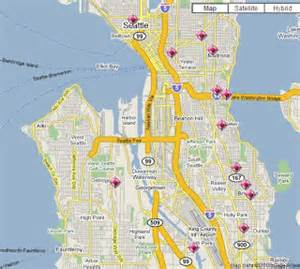 Crime Map Seattle by Seattle Crime Maps Spotcrime The Public S Crime Map