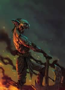evil goblin caiomm deviantart