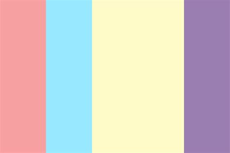 what are easter colors easter bunny color palette