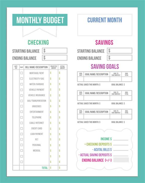 Free Budget Worksheets by Budgeting Worksheets On Budgeting Tips