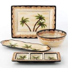 Palm Tree Dishes Palm Tree By Tabletops Unlimited Palm Tree Kitchen Decor