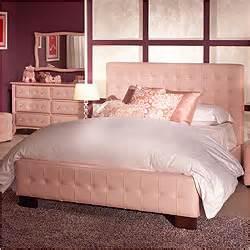 Pink Room Design Ideas Z Generation Ariel Pink Leather Bed Furniture Amp Home Design Ideas