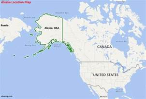 us map w alaska where is alaska state where is alaska located in the us map