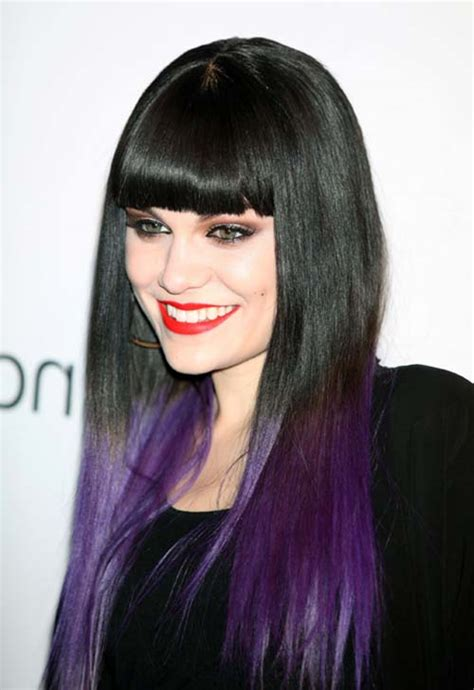 Edgy Purple Hair Color Ideas Best Hair Color Trends 2017 | edgy hair color ideas best celebrity style of edgy hair