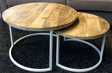 Ronde Poef Salontafel by Awesome Jamie Set Salontafels With Grote Poef Als Salontafel