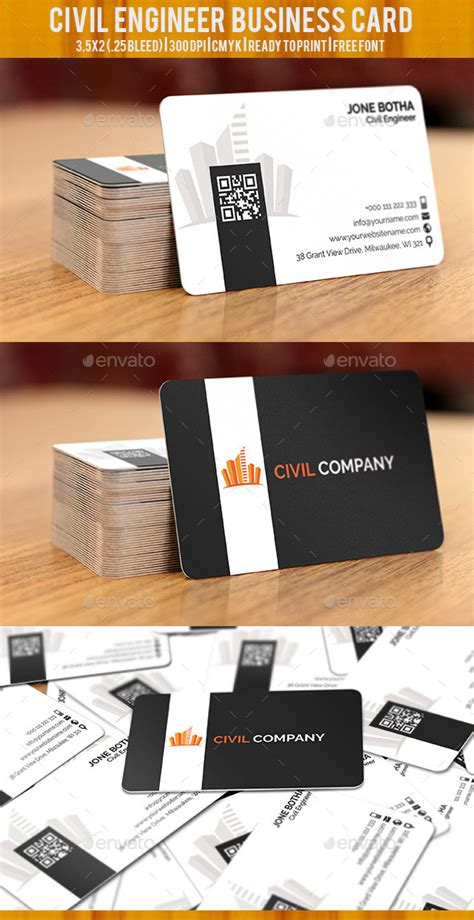 civil engineer business card template civil engineer business card by graphicspixels graphicriver