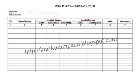 format buku golongan barang inventaris download program stok barang dengan excel mexicobuild