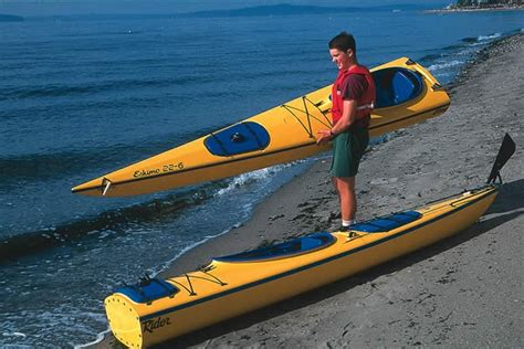 sectional kayak sectional sea kayak easyrider eskimo 22 foot tandem 2