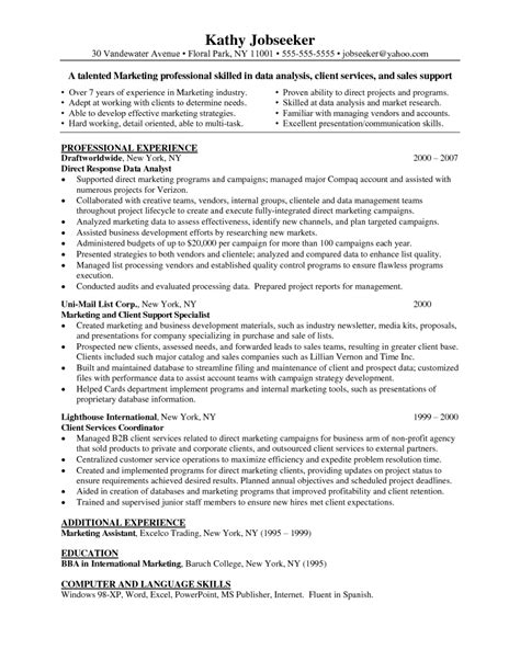 data analyst resume template sle resume for statistical data analyst