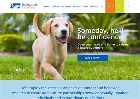 southeastern guide dogs work helium studio
