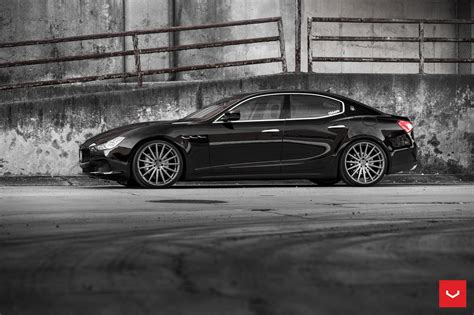 black maserati ghibli black maserati ghibli looking fly on custom polished