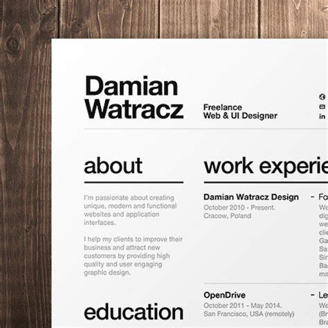 Resume Font Type by Best 25 Resume Fonts Ideas On Resume Ideas