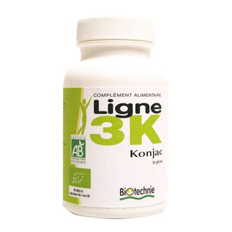 k weight loss with glucomannan line 3k konjac 36 capsules biotechnie shop at
