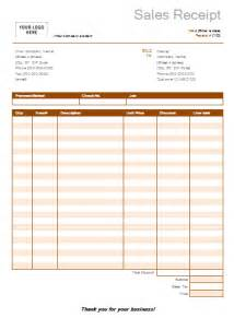 Template For Sales Receipt Free Receipt Templates Page 2 Of 3 Word Excel Formats
