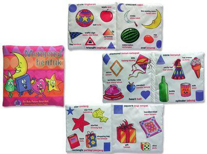 Paket Hemat Buku Bantal Grup C 4 Buku buku bantal judul mengenal bentuk