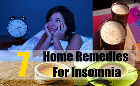 7 insomnia home remedies treatments and cures