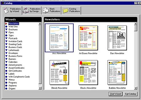 microsoft publisher catalog templates microsoft publisher 98