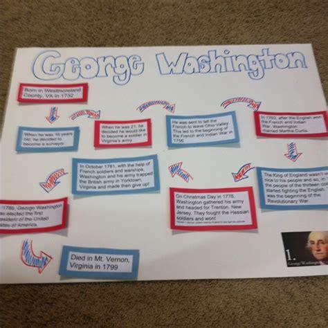 george washington biography timeline presidents day george washington and timeline on pinterest