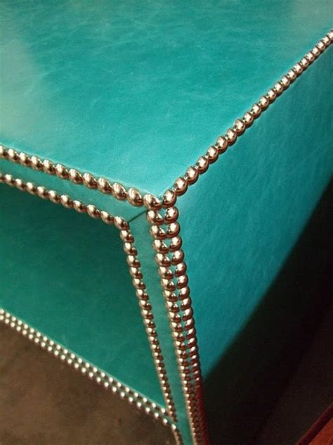 turquoise ottoman coffee table studded turquoise coffee table home decor pinterest