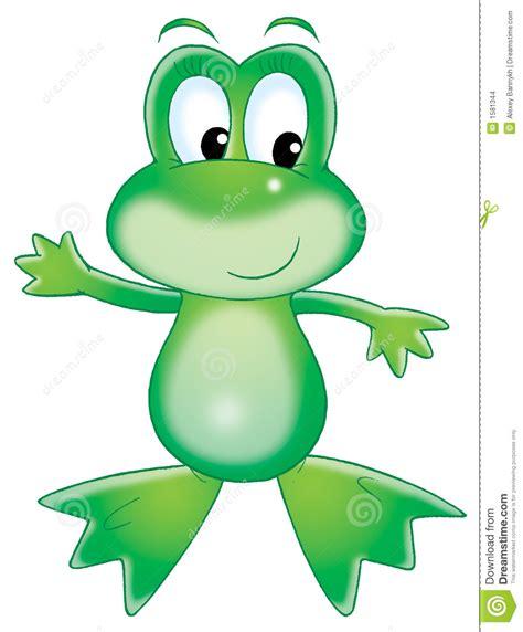 imagenes de ranas animadas navideñas rana verde imagenes de archivo imagen 1581344