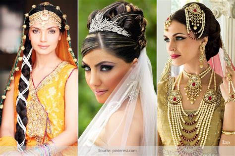 Wedding Hairstyles In India by 30 Indian Wedding Hairstyles For Picture Brides