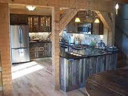 Barn Board Kitchen Cabinets Faded Barn Board Kitchen Cabinets Images Frompo