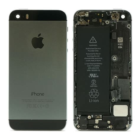 iphone 5s battery refurbished original apple iphone 5s housing assembly battery mid frame ebay