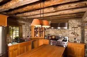 10 cuisines cr 233 atives avec des murs en pierres bricobistro