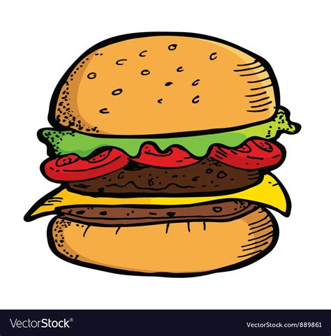 stock images royalty free images vectors beef burger royalty free vector image vectorstock
