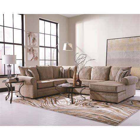 U Shaped Sectional Sofa With Chaise Coaster Fairhaven 501149 Colored U Shaped Sectional With Chaise Dunk Bright Furniture