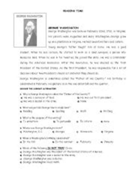 search results for free george washington worksheets english teaching worksheets george washington