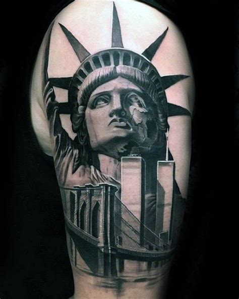 tattoo of nyc 60 new york skyline tattoo designs for men big apple ink