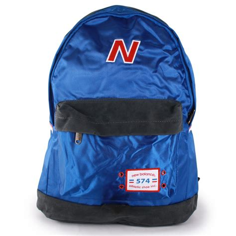 Backpack New Balance Blue new balance 574 backpack unisex bags in blue