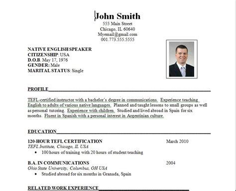 ideal cv format best resume format resume cv