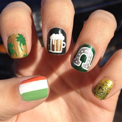st nails 13 best images about st patricks day idea s on