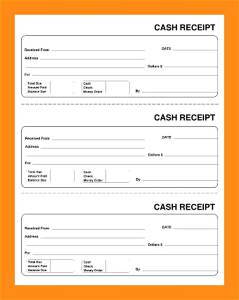 11 generic receipt template actor resumed
