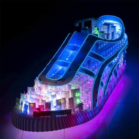 where can you buy light up shoes neon electric sneakers wow ubergizmo