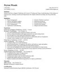 Food Server Description by Food Server Description For Resume Resume Template Exle