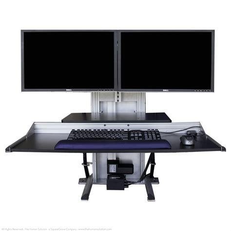 Ergotech Desk ergotech one touch ultra shop ergotech monitor stands