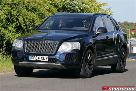 Bentley Bentayga Debuting At Frankfurt Motor 2015