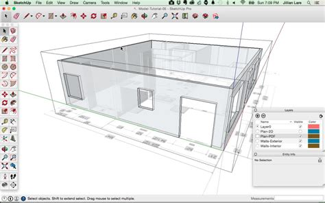 home design 3d video tutorial sketchup tutorial create a 3d model of a house